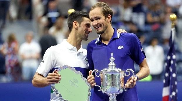 Djokovic va Medvedev noi gi sau tran chung ket US Open 2021? hinh anh 1