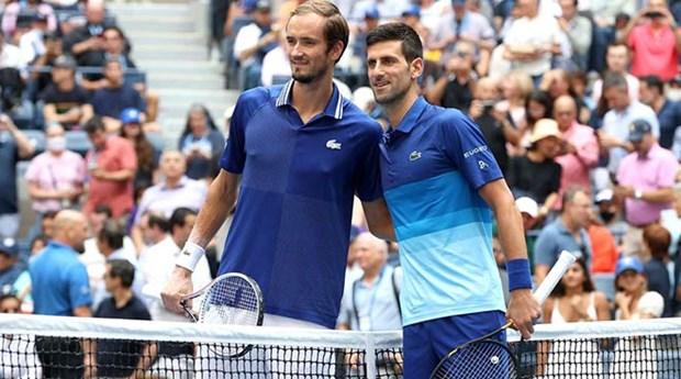Can canh Medvedev danh bai Djokovic de len ngoi tai US Open 2021 hinh anh 1