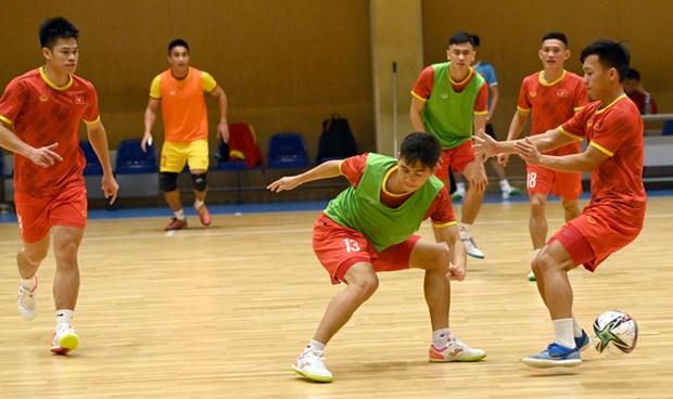 Lich truc tiep: Tuyen Futsal Viet Nam doi dau 'ky luc gia' Brazil hinh anh 1