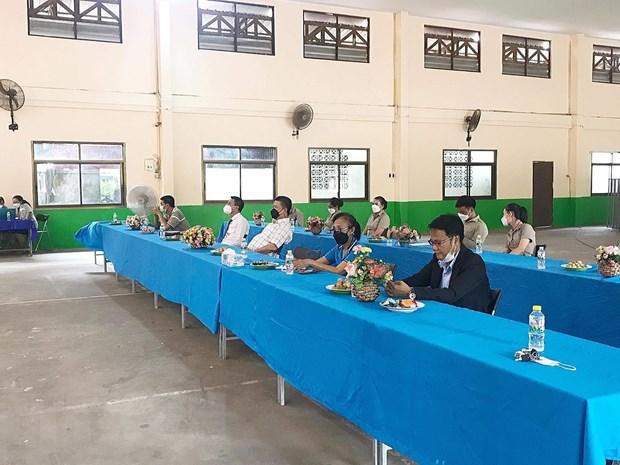 Truong song ngu Lao-Viet Nam Nguyen Du khai giang nam hoc 2021-2022 hinh anh 2