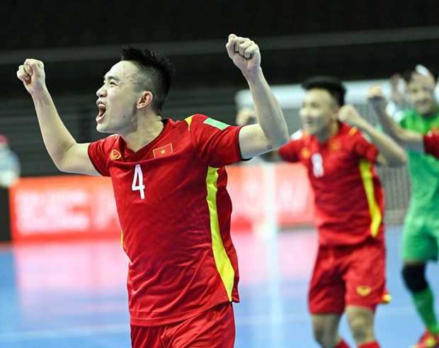 Vong 1/8 FIFA Futsal World Cup 2021: Bong da chau A lap ky tich hinh anh 1