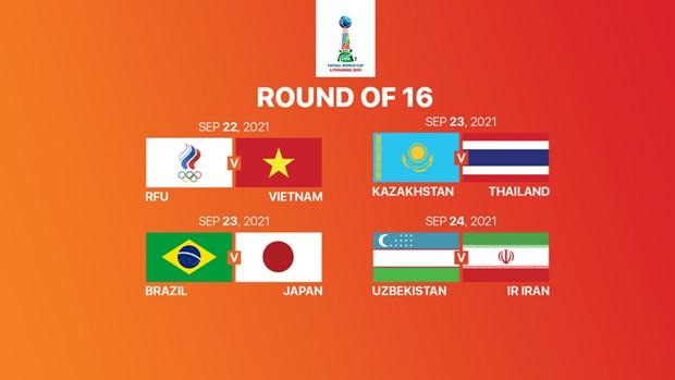Vong 1/8 FIFA Futsal World Cup 2021: Bong da chau A lap ky tich hinh anh 2