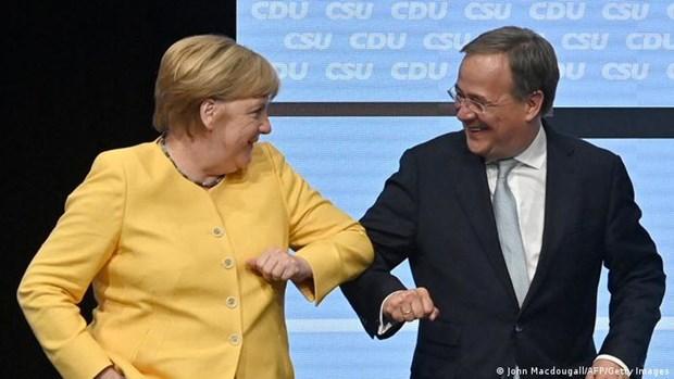 Duc: Thu tuong Merkel huy dong su ung ho cho ung cu vien Laschet hinh anh 1
