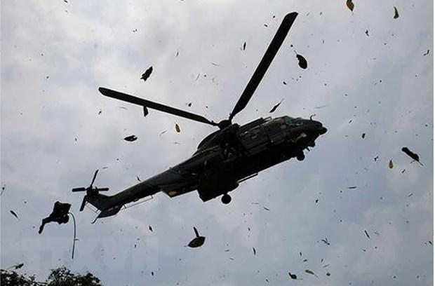 Cote d'Ivore: Thoi tiet xau la nguyen nhan vu tai nan may bay Mi-24 hinh anh 1