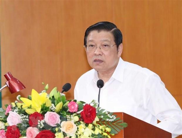 Truong Ban Noi chinh Trung uong tiep Pho Tong thong Nam Sudan hinh anh 1
