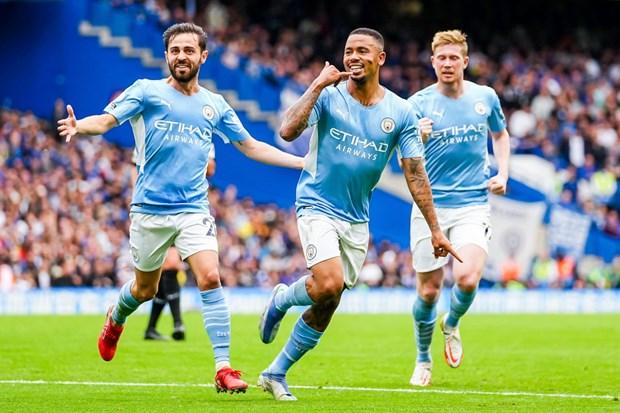 Premier League: Man City ha Chelsea, M.U bai tran tren san nha hinh anh 1