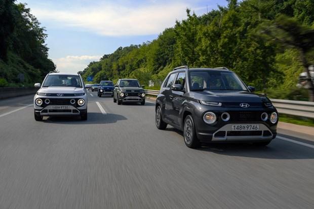 Hyundai ra mat mau xe the thao da dung mini mang thuong hieu Casper hinh anh 1