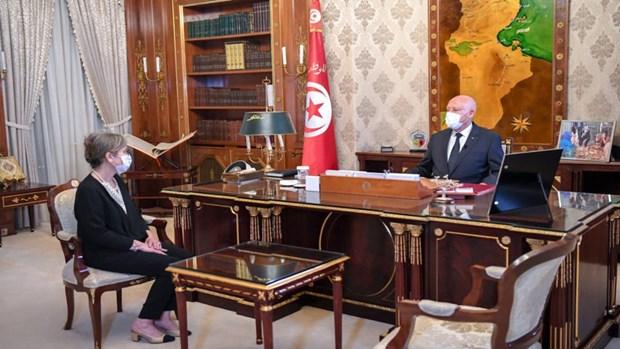 Ba Najla Boudin Ramdan tro thanh nu Thu tuong dau tien cua Tunisia hinh anh 1