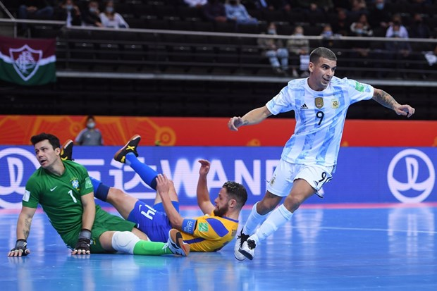 Bo Dao Nha doi dau Argentina o chung ket FIFA Futsal World Cup 2021 hinh anh 1
