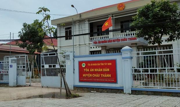 Tay Ninh: Khoi to nguyen Chanh an, Pho Chanh an TAND huyen Chau Thanh hinh anh 1