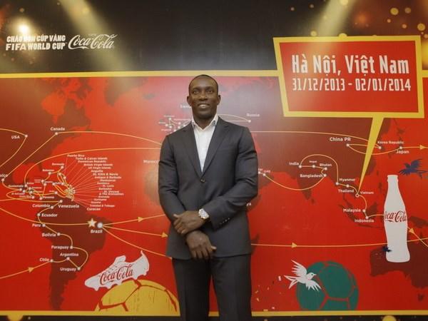 Huyen thoai M.U chuc Viet Nam som duoc du World Cup hinh anh 1