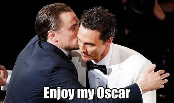 Loat anh che ve noi dau cua Leo DiCaprio o Oscar hinh anh 8