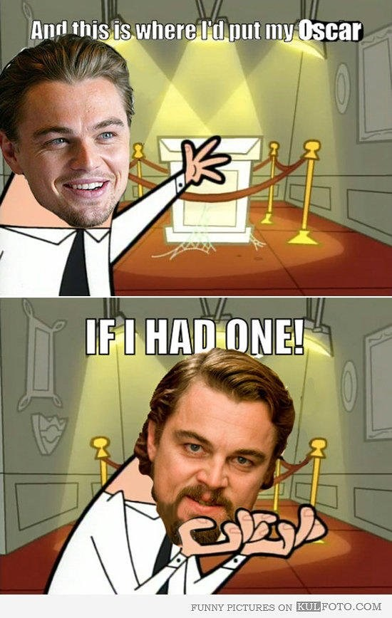 Loat anh che ve noi dau cua Leo DiCaprio o Oscar hinh anh 6