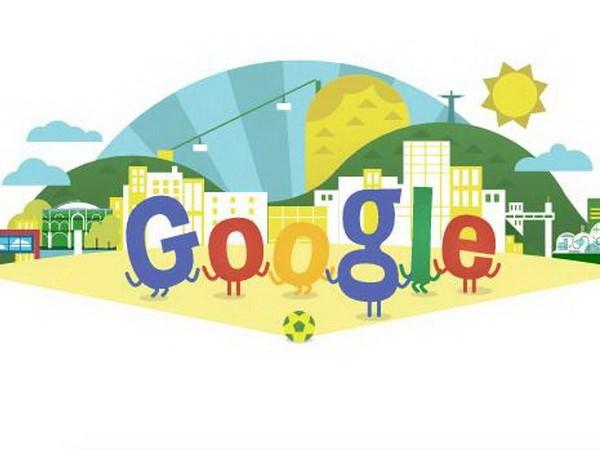Hang Google treo bieu tuong doc dao dip World Cup 2014 hinh anh 1