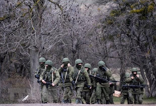 Nga giai thich viec tap trung quan gan bien gioi voi Ukraine hinh anh 1