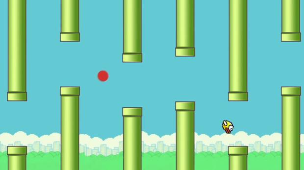 Flappy Bird bat ngo xuat hien ngay dau su kien cua Google hinh anh 1