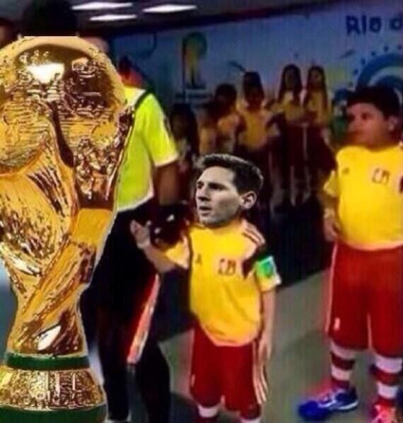 Nhung hinh anh che doc dao ve tran chung ket World Cup 2014 hinh anh 1