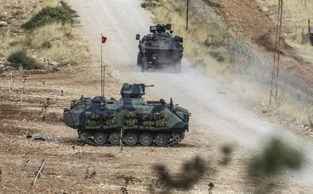 Tho Nhi Ky cho phep nguoi ti nan Syria qua bien gioi toi Kobane hinh anh 1