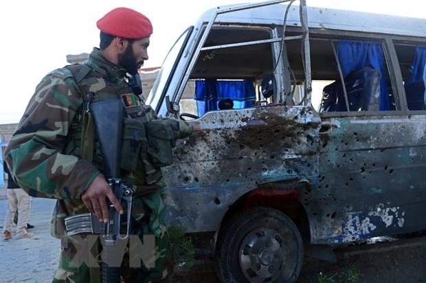 Afghanistan: Danh bom dam mau o Kabul lam 4 binh sy thiet mang hinh anh 1