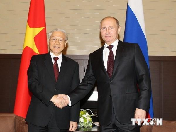 Viet-Nga ra Tuyen bo chung tiep tuc tang quan he doi tac chien luoc hinh anh 1