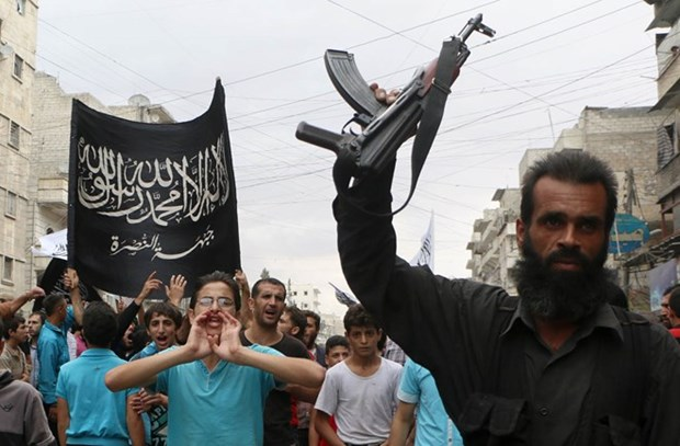 Al-Qaeda chiem can cu quan su trong yeu o Tay Bac Syria hinh anh 1
