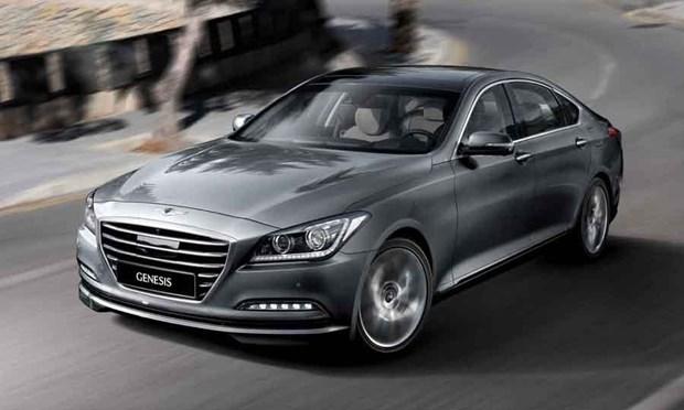 Hang Hyundai cong bo gia ban mau Genesis sedan doi 2015 moi hinh anh 1