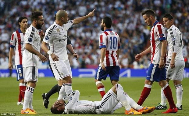 Real Madrid ha Atletico: Bong da da thang trong mot cuoc chien hinh anh 1