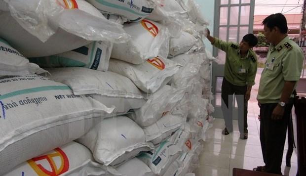 Tay Ninh: Phat nang doi tuong van chuyen hon 8.000kg duong lau hinh anh 1