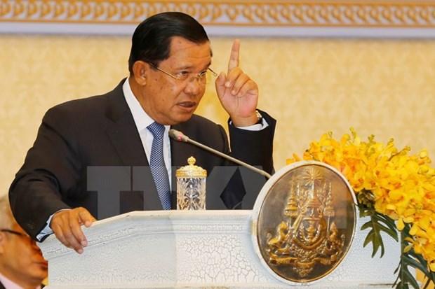 [Video] Ong Hun Sen ung ho viec bat nghi sy xuyen tac ve bien gioi hinh anh 1
