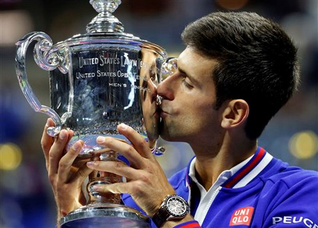 Ha Roger Federer, Novak Djokovic lan thu 2 dang quang US Open hinh anh 1