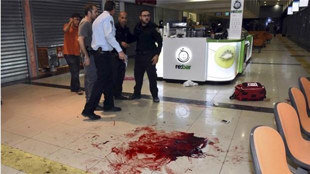 Hai nghi can Palestine xa sung vao dan thuong o ben xe buyt Israel hinh anh 1
