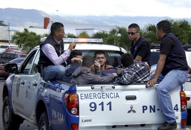 Canh sat Honduras bat giu 5 cong dan Syria mang ho chieu gia hinh anh 1