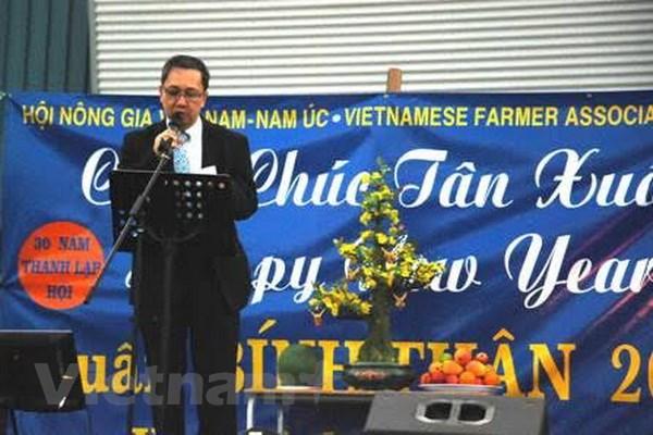Cong dong nguoi Viet o Australia, Thuy Sy don Tet Binh Than 2016 hinh anh 1