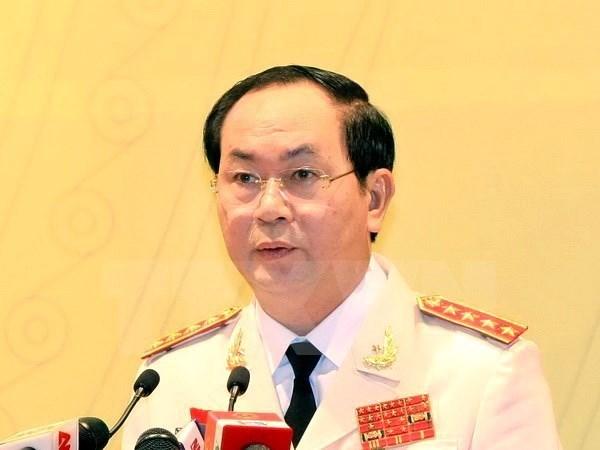 Tieu su Uy vien Bo Chinh tri khoa XII Tran Dai Quang hinh anh 1