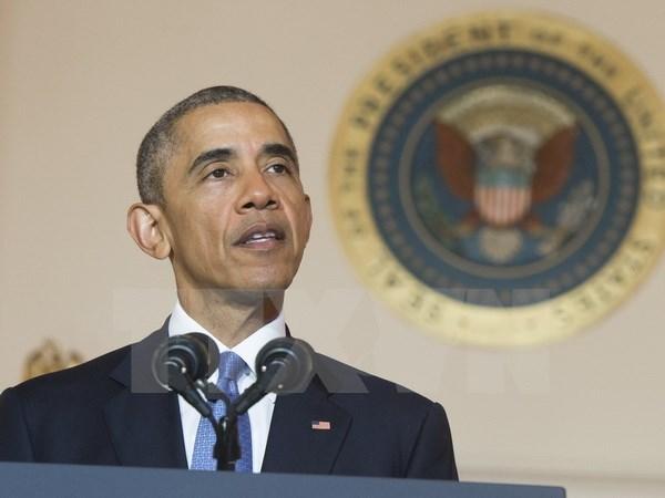 Ong Obama se thao luan viec do bo cam van vu khi voi Viet Nam hinh anh 1