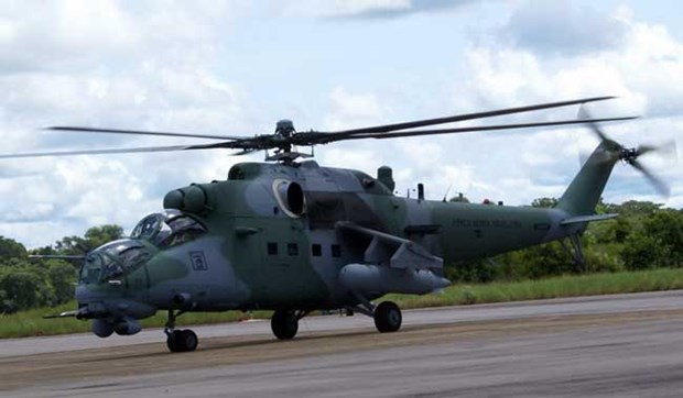 Pakistan mua may bay truc thang chien dau Mi-35 cua Nga hinh anh 1