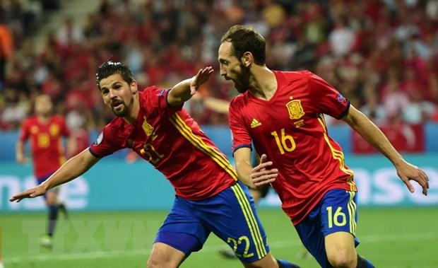EURO 2016: Tay Ban Nha va Croatia dai chien vi ngoi dau hinh anh 1