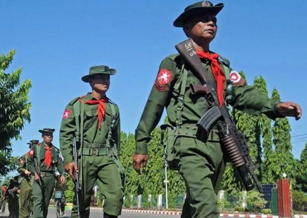 Luc luong an ninh Myanmar tieu diet them nhieu tay sung hinh anh 1