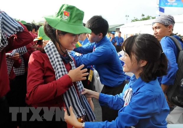 Tau Thanh nien Dong Nam A va Nhat Ban den Thanh pho Ho Chi Minh hinh anh 2