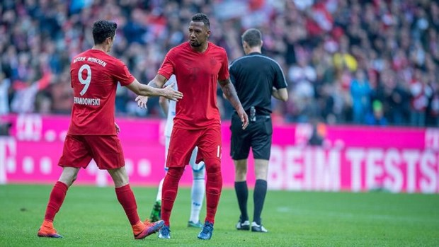 Jerome Boateng choc tuc Dortmund truoc tran Klassiker kinh dien hinh anh 1