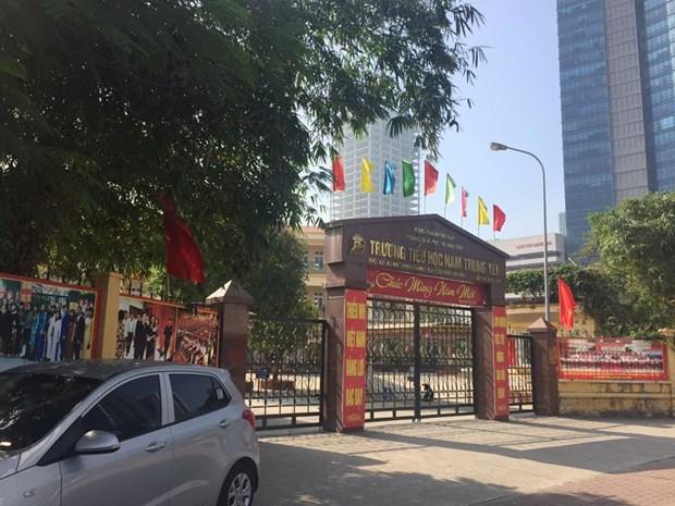 Vu Truong Nam Trung Yen la hoi chuong canh tinh voi nhieu nha giao hinh anh 1