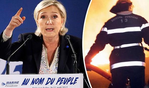 Phap: No bom tai van phong cua ung cu vien Tong thong Le Pen hinh anh 1