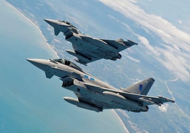NATO tien hanh cuoc tap tran khong quan tai cac nuoc Baltic hinh anh 1