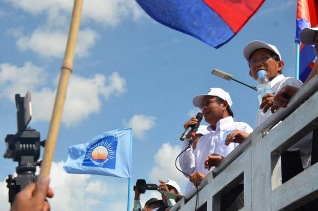 Campuchia: Dang CPP huy dong so nguoi ky luc van dong cu tri hinh anh 1