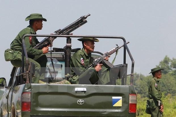 Myanmar: Binh sy bang Rakhine dat trong tinh trang bao dong cao hinh anh 1