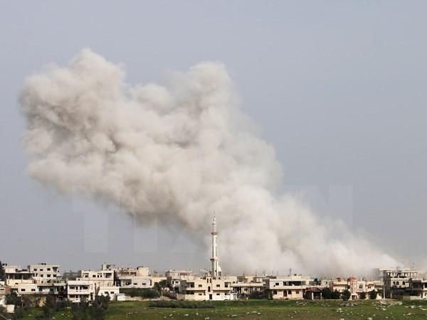 SOHR: Khong kich tai Syria khien it nhat 30 nguoi thiet mang hinh anh 1