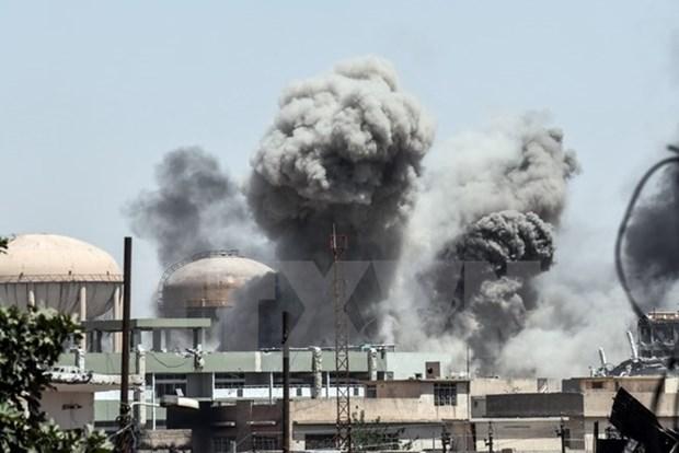 Iraq sap tuyen bo chien thang to chuc khung bo IS tai Mosul hinh anh 1