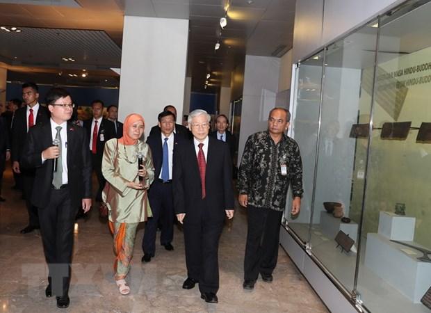 Tong Bi thu: Viet Nam coi trong thuc day quan he hop tac voi Indonesia hinh anh 1