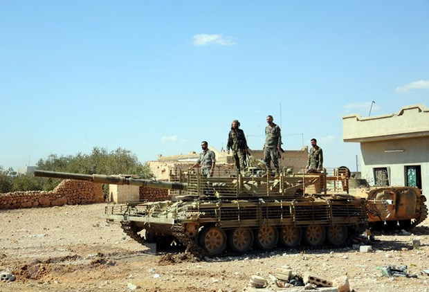 Lan dau tien trong 3 nam, quan doi Syria danh bat IS khoi tinh Hama hinh anh 1