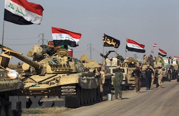 Quan doi Iraq tuyen bo kiem soat hoan toan thanh pho Kirkuk hinh anh 1